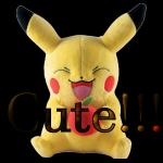Cute Pikachu 1 by LA-StockEmotes