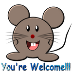You're Welcome Mouse
