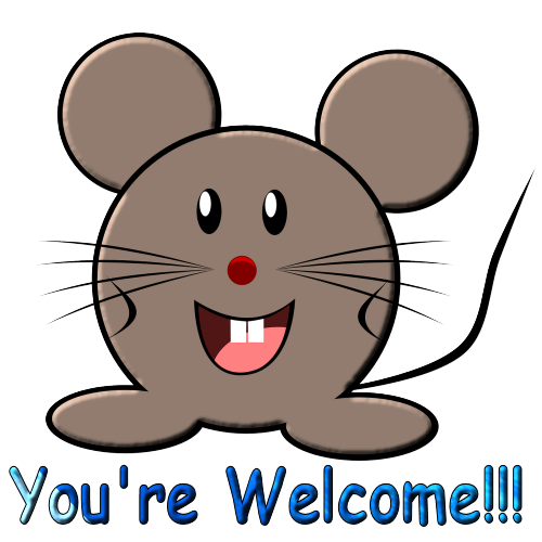 you re welcome mouse by la stockemotes on deviantart rh la stockemotes deviantart com your welcome clip art free your welcome clip art funny