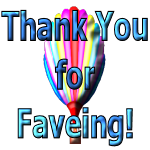 Thank You for Faveing Balloon