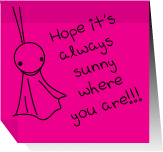 Post It-Always Sunny by CQcat
