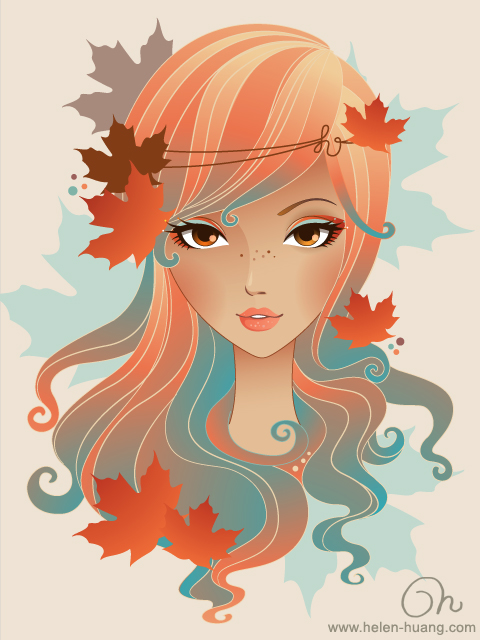 Four Seasons Fall by CQcat