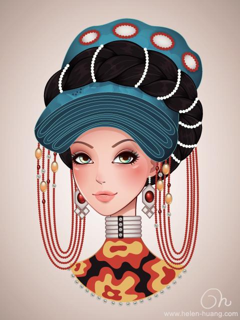 Yi Girl by CQcat