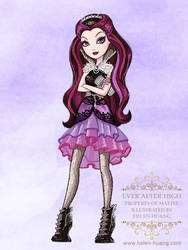 Ever After High Character Illustration Raven