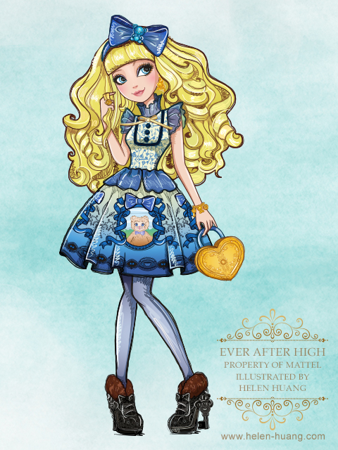 Ever After High Blondie Lockes by CQcat