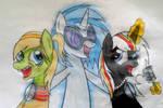 MLP and TMNT - Fly Like You by MlpTmntDisneyKauane