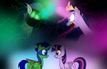MLP and TMNT - Past Friends, Future Enemies by MlpTmntDisneyKauane