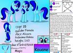 My Oc Character: Kauane by MlpTmntDisneyKauane