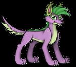 Spike Wolf by MlpTmntDisneyKauane