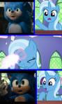 Trixie Fixes Sonic (Meme) by MlpTmntDisneyKauane