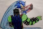 Maximus Kong VS Sonic the Hedgehog by MlpTmntDisneyKauane