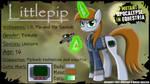 Mutant Apocalypse in Equestria: Littlepip by MlpTmntDisneyKauane
