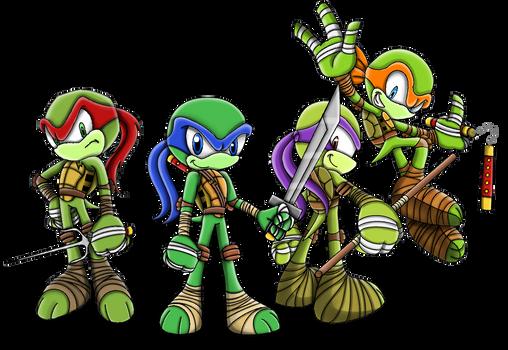 Ninja Turtles (Sonic Character Style)
