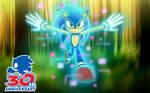 Sonic 30th Anniversary by MlpTmntDisneyKauane