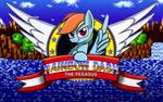 Rainbow Dash the Pegasus by MlpTmntDisneyKauane