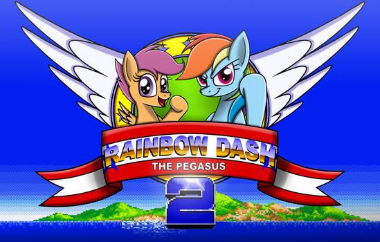 Rainbow Dash the Pegasus 2