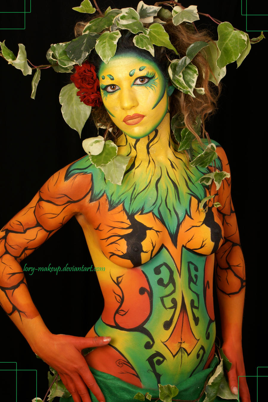 Body Art Painting The Origin Of Body Painting