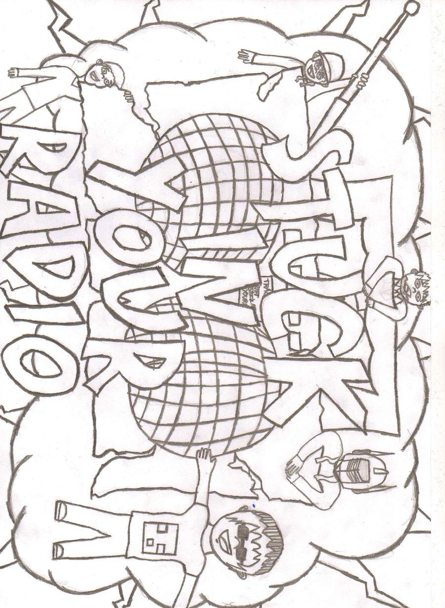 Stuck In Your Radio Fan Art by endninja