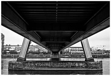 DownRiver the bridge by akoya31