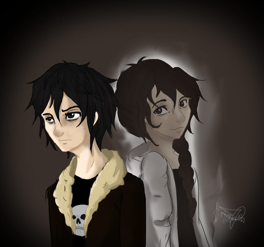 Nico and Bianca by RoCkStarFreak on DeviantArt