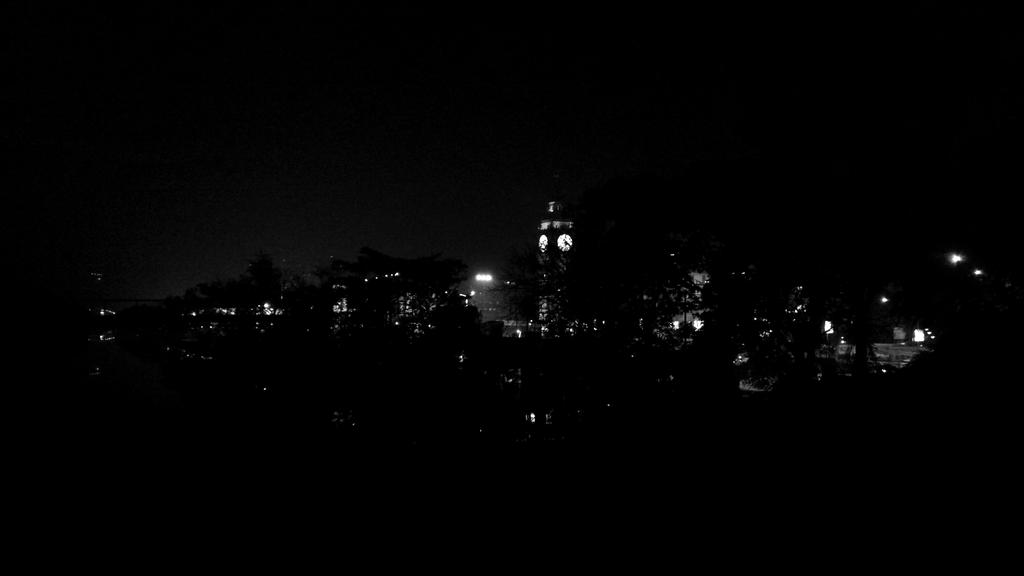 Lake Town timezone at night by Addy-bose