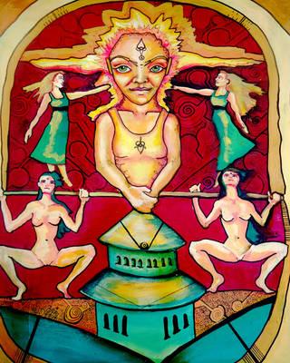 Pagoda multicolor by ELORACUCA