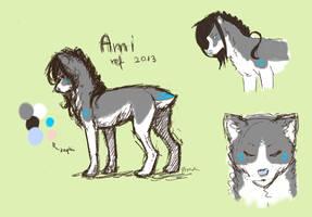 Ami Ref. Sheet by GrreenTea