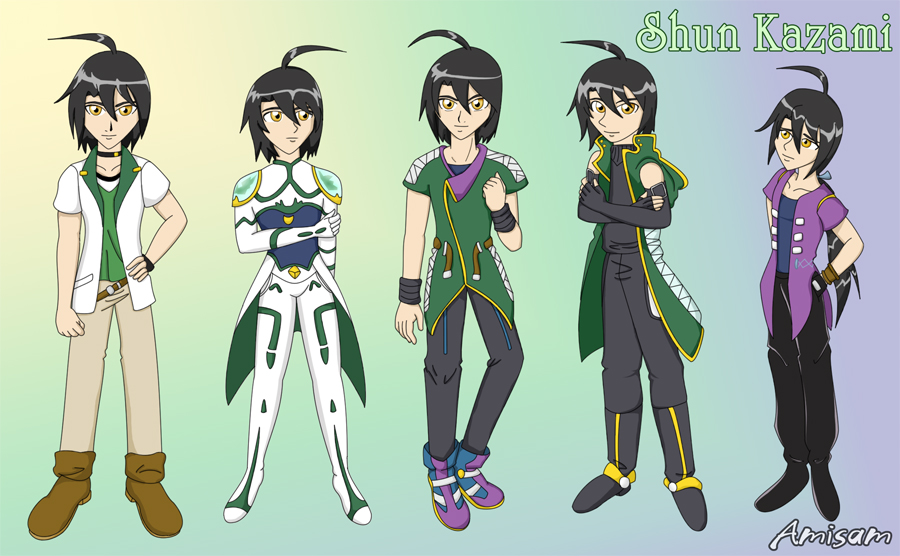 The Styles of Shun by amisam