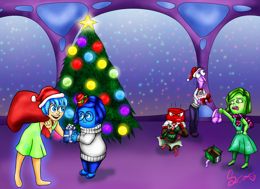 Inside Out Christmas by amisam on DeviantArt