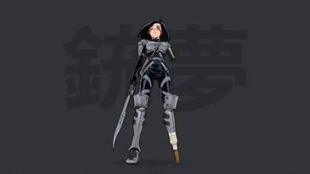 Gunnm - Battle Angel Alita by Yukito Kishiro #12