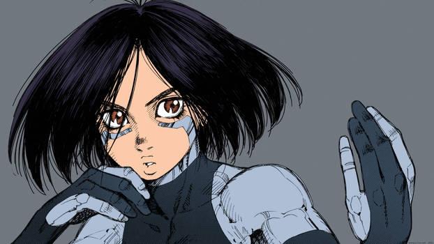 Gunnm - Battle Angel Alita by Yukito Kishiro #18