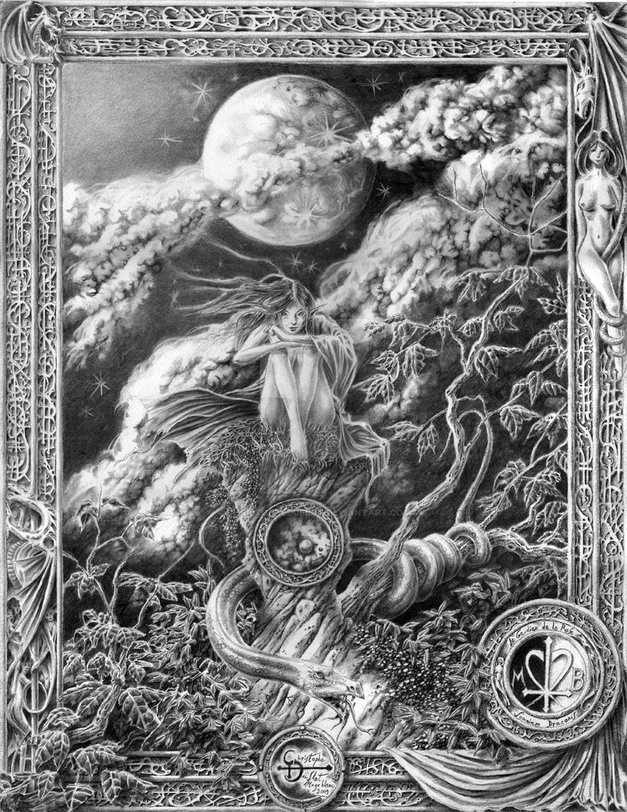 Le gardien de la Rose by ChristopheDuflot