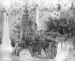 Chateau Feerie - Fairy Castel by ChristopheDuflot