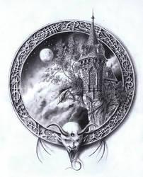 Tour de garde - Demon au logis by ChristopheDuflot