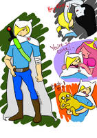 Adventure Time Flies! by ShellsterXD