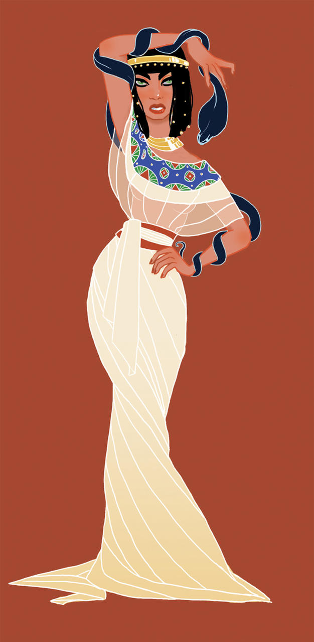 Cleopatra by aninael