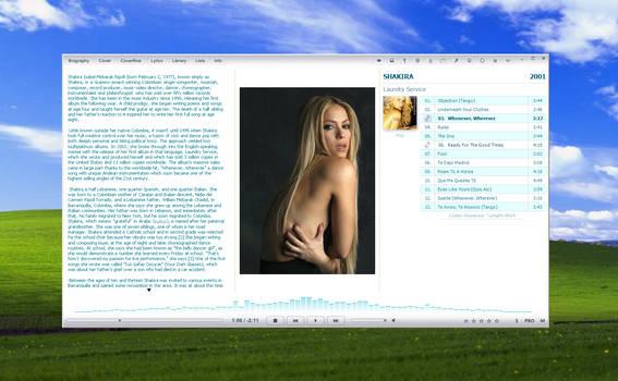 fooGlassic on Windows XP
