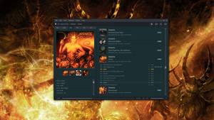 foobar2000 theme screenshot