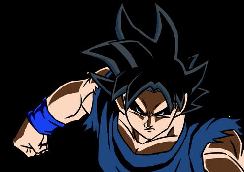 Migatte no Goku'i - Ultra instinct Render