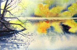 Lighty lake by patriszkarch