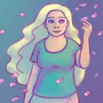 Nameless Flower Girl