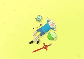 Adventure Time beautiful day by kazaret