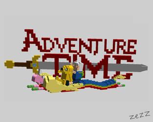 adventure time the lego by kazaret