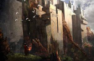 Canyon Castle by MikeZemaitis