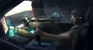 Cockpit by MikeZemaitis