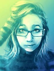 Self Portrait by memetzger
