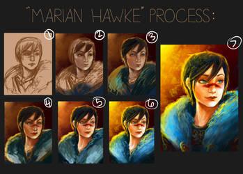 Marian Hawke Process by memetzger