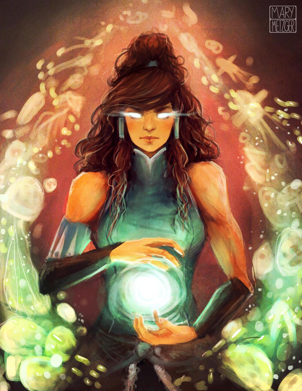Avatar Korra by memetzger