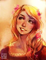 Rapunzel by memetzger