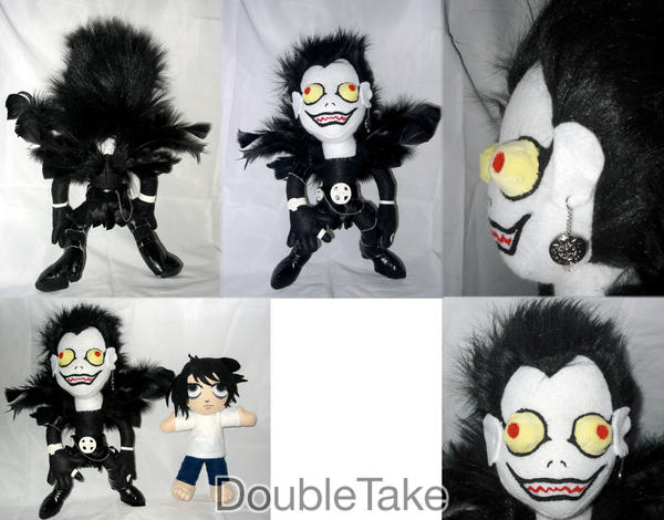 Ryuk Plushie by WhittyKitty